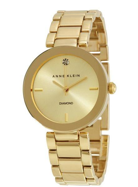 Đồng Hồ Nữ Anne Klein AK/1362CHGB Màu Vàng Gold 32mm