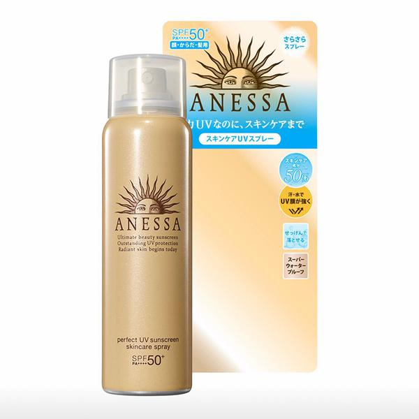Xịt Chống Nắng Anessa Perfect UV Sunscreen Skincare Spray SPF50+
