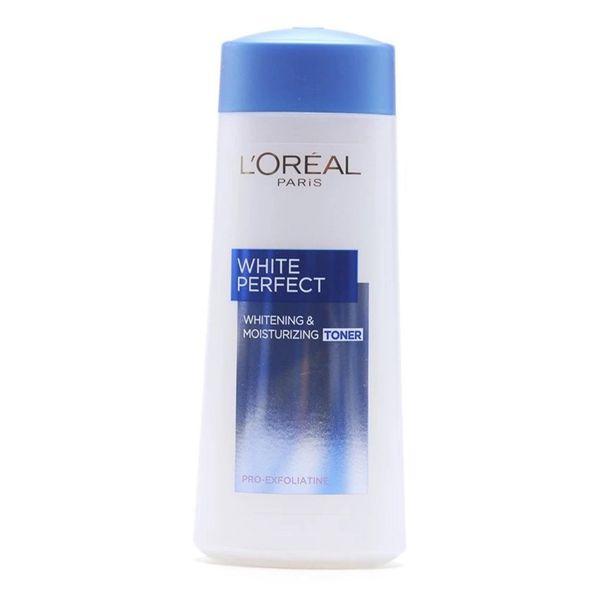 Nước Hoa Hồng Hỗ Trợ Trắng Da White Perfect LOreal 200ml