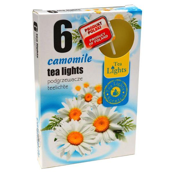 Hộp 6 Nến Thơm Tinh Dầu Tealight QT026110 Hoa Cúc La Mã