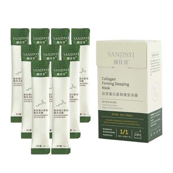 Mặt Nạ Ngủ Dạng Thạch Collagen Hộp 20 Gói 4ml Tiện Dụng