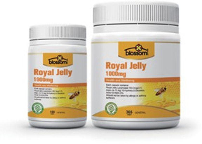 Sữa Ong Chúa Blossom Royal Jelly 1000MG Mẫu Mới