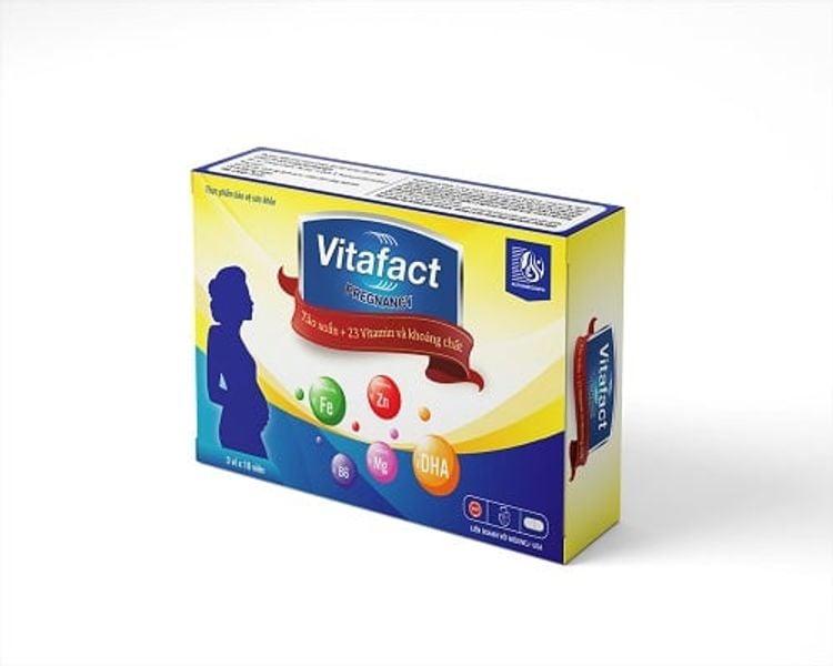 Viên Uống Đa Lượng Cho Phụ Nữ Có Thai Vitafact Preagnacy