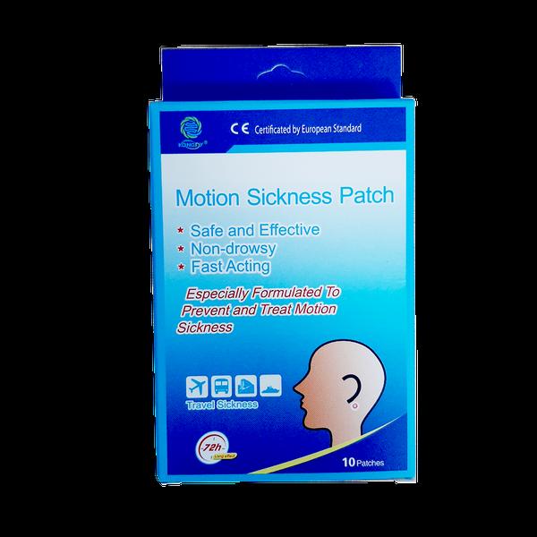Miếng Dán Hỗ Trợ Say Tàu Xe Motion Sickness Patch Hộp 10 Miếng