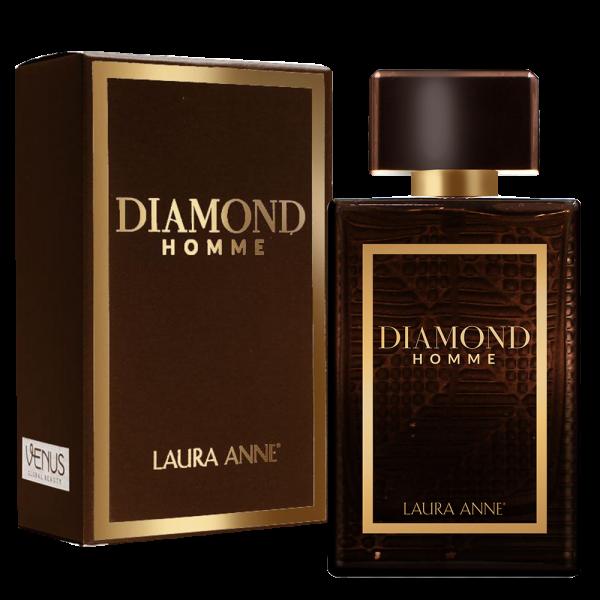 Nước Hoa Nam Laura Anne Diamond Homme Brown 45ml