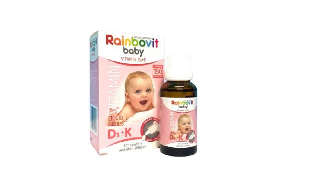 Rainbovit Baby Vitamin D3 Hỗ Trợ Bé Phát Triển Chiều Cao 30ml