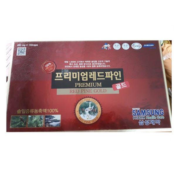 Tinh Dầu Thông Đỏ Samsung 150 Viên Samsung Premium Red Pine Gold