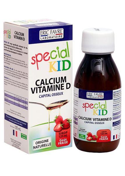 Siro Special Kid Calcium Vitamin D Bổ Sung Canxi Và Vitamin D Cho Trẻ