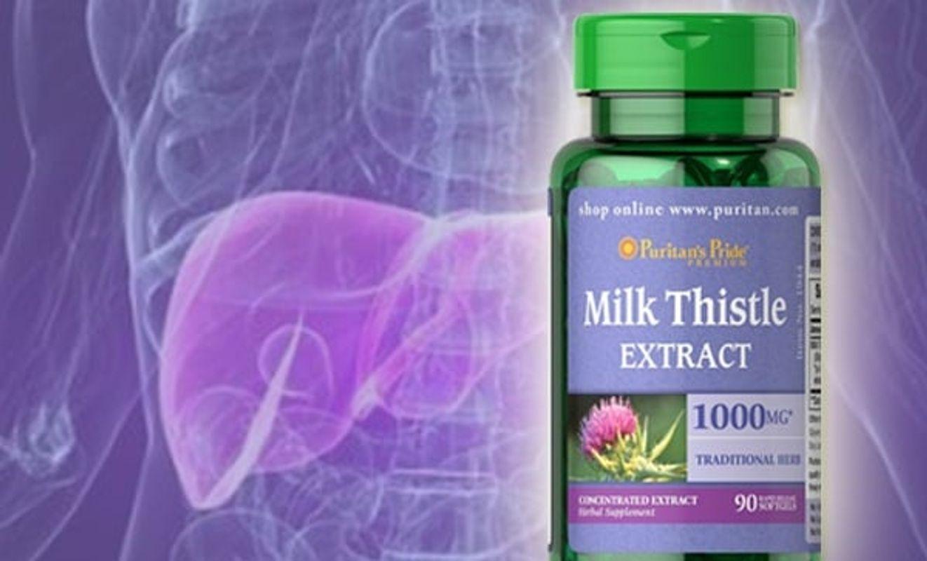 Thuốc Bổ Gan Milk Thistle - Công Dụng Tuyệt Vời Từ Cây Kế Sữa