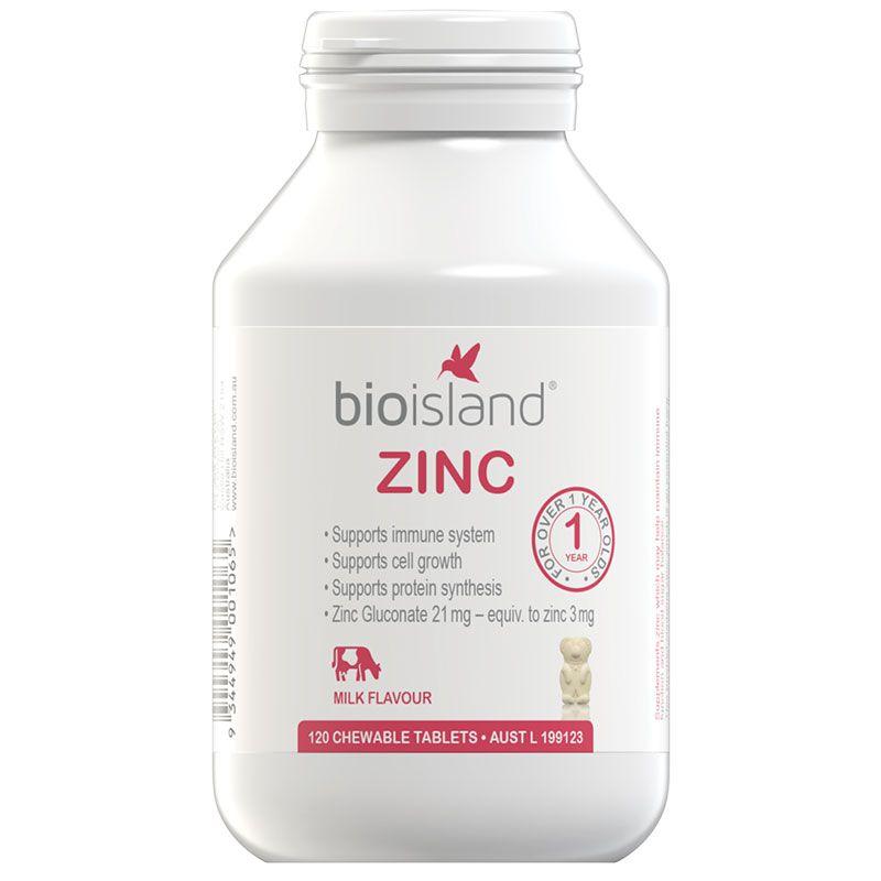 Có Nên Bổ Sung Kẽm ZinC Bio Island Cho Bé?