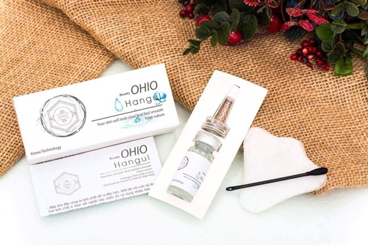 Review Kem Ủ Mụn Ohio Hàn Quốc: Ủ Mụn Ohio Có Tốt Không? Mua Ohio Chính Hãng Ở Đâu?