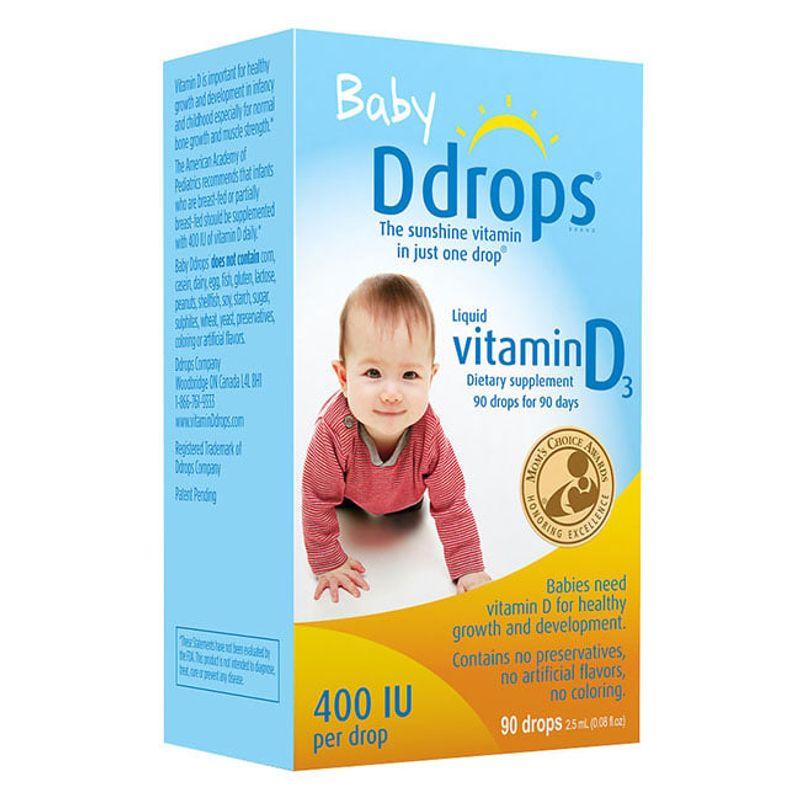 Baby Drops Vitamin D3 Có Tốt Không? Cách Sử Dụng?