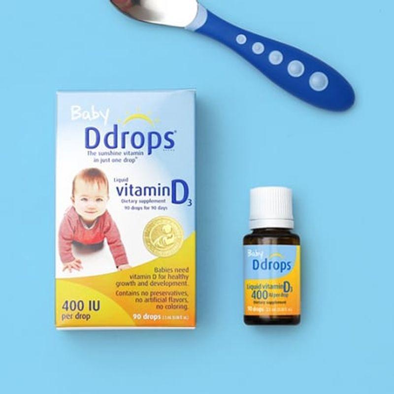 Đánh Giá Baby Drops Vitamin D3 Có Tốt Cho Trẻ Sơ Sinh?