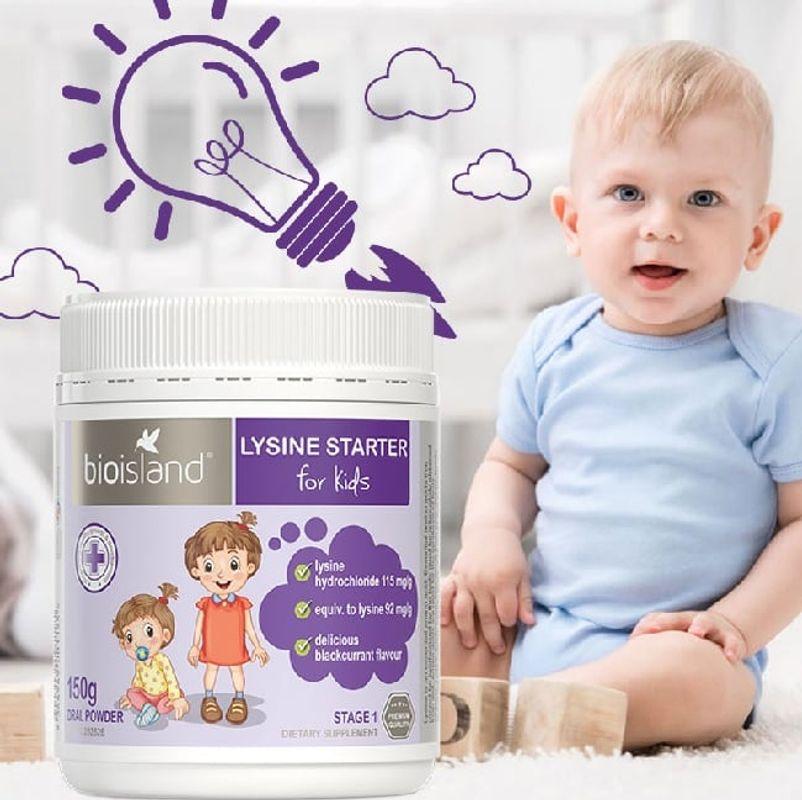 [MẸ ĐỪNG QUÊN] Bổ Sung Lysine Starter For Kid Để Phát Triển Chiều Cao Và Khỏe Mạnh