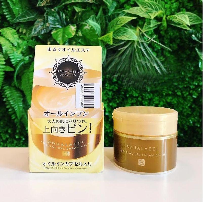 REVIEW Chi Tiết Kem Dưỡng Da Shiseido Aqualabel Ban Đêm