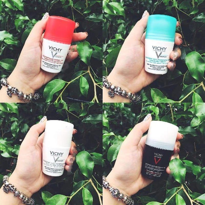 [REVIEW] Lăn Khử Mùi Vichy Đỏ - Mình Đã Thoát Khỏi Mùi Hôi Nách Như Thế Đó !