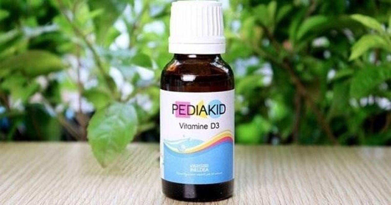 [TIN TỨC] Pediakid Vitamin D3 - Có Nên Cho Bé Sử Dụng ?