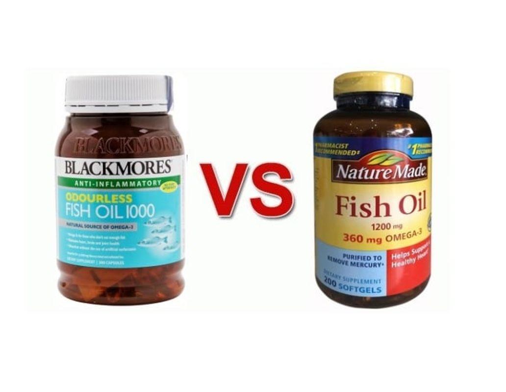 [TIPS] So Sánh Dầu Cá Blackmores Và Dầu Cá Nature Made: Đâu Là Dầu Cá Tốt Cho Cơ Thể ?