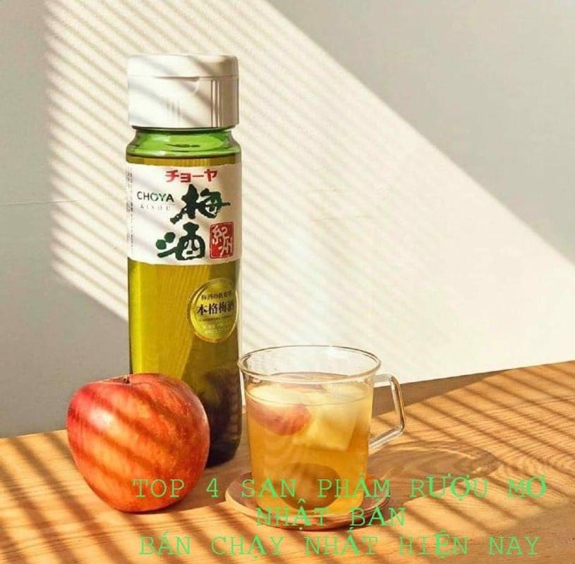 Điểm Danh TOP 4 Sản Phẩm Rượu Mơ Nhật Bản Bán Chạy Nhất Hiện Nay