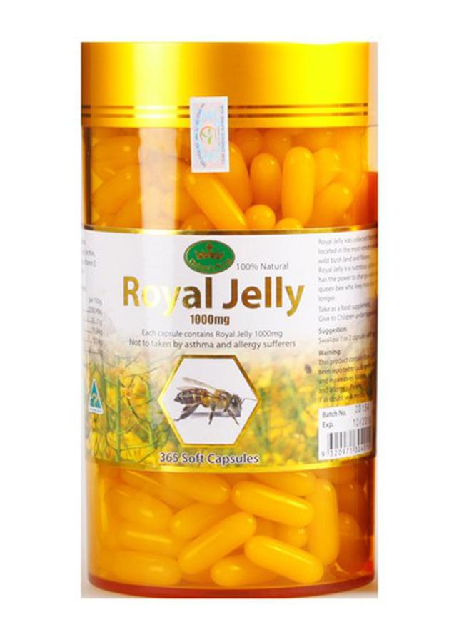 Nature's King Royal Jelly 1000mg 365 Viên