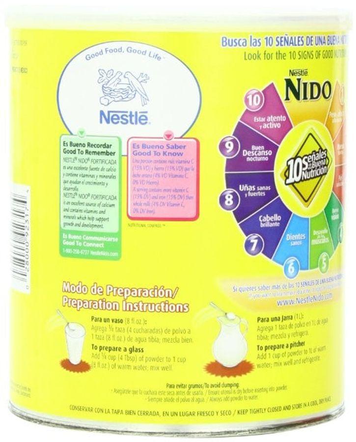 Sữa Nido Nắp Trắng Cho Bé 1 - 9 Tuổi