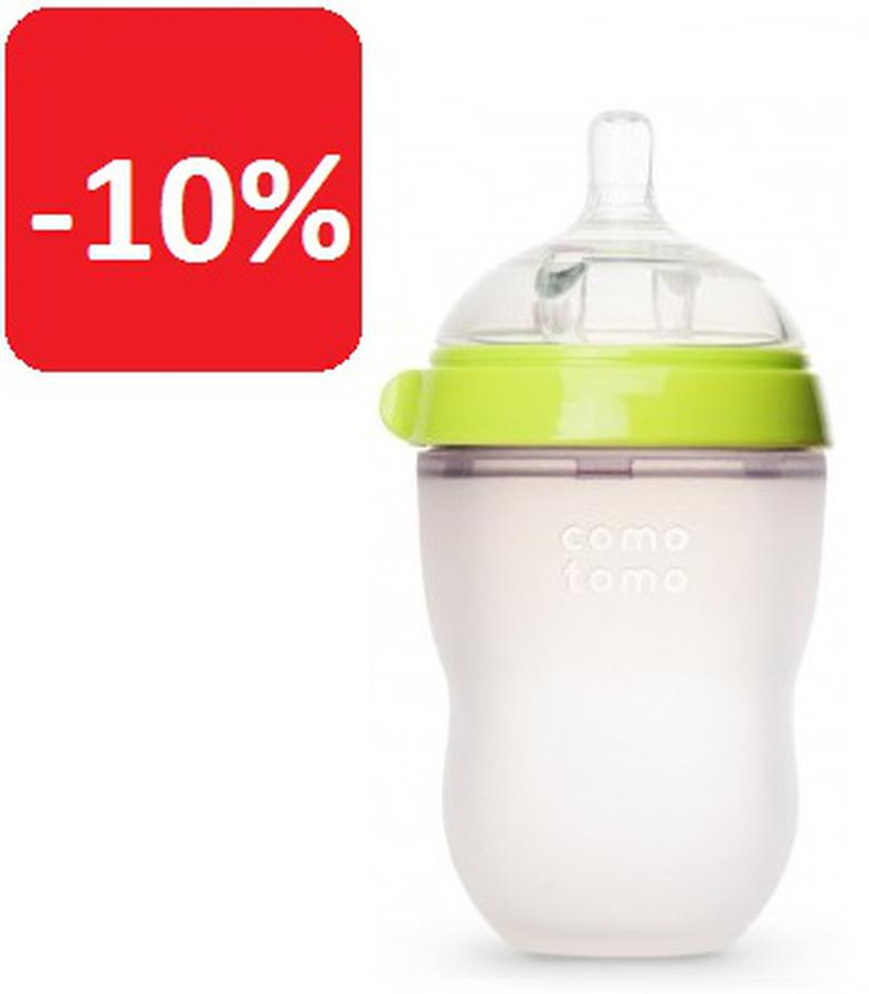 Bình Sữa Comotomo 250ml - Núm Ti Siêu Mềm Hệt Ty Mẹ