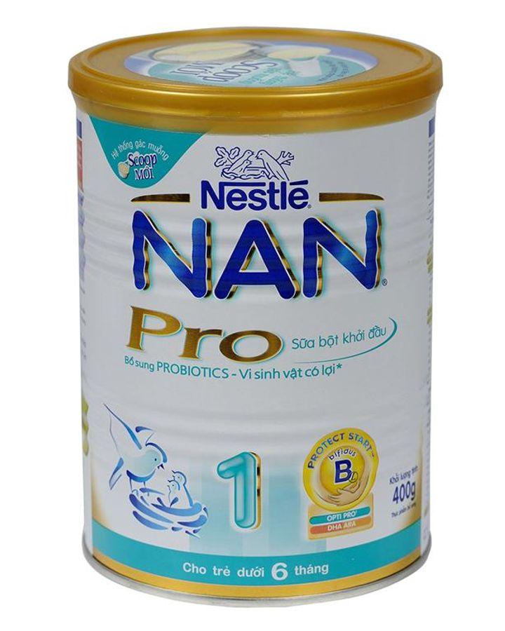 Sữa Nan Pro 1 400g (0 - 6 Tháng Tuổi)
