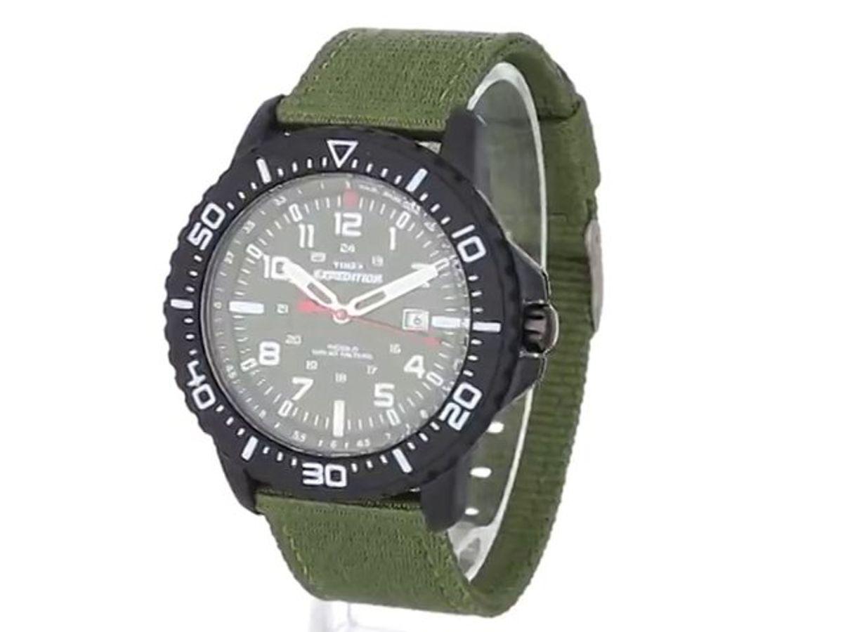 Đồng Hồ Timex T499449J Xanh Quân Đội