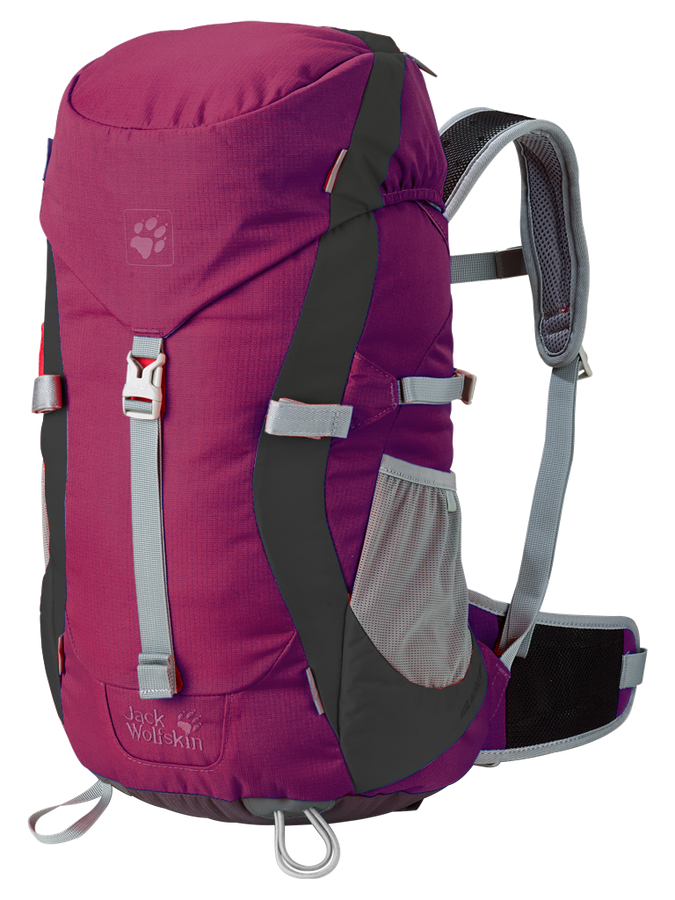 Balo Jack Wolfskin Kids Alpine Trail Purple