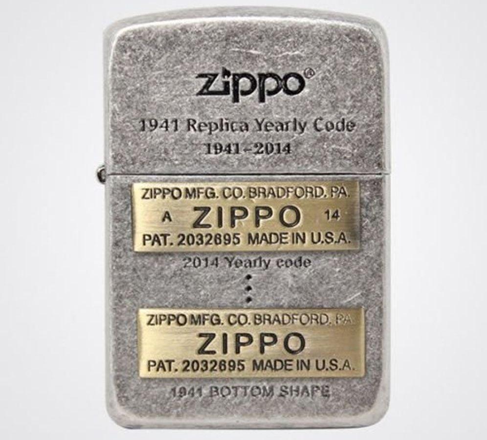 Bật Lửa Zippo 1941 Replica Yearly Code SV Lighter