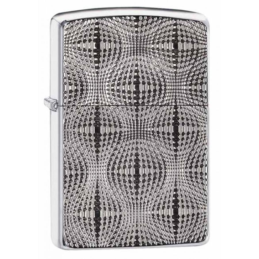 Bật Lửa Zippo 28835 Armor Deep Carve High Polish Chrome