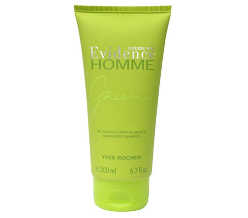 Sữa Tắm Cho Nam Evidence Homme Green Yves Rocher