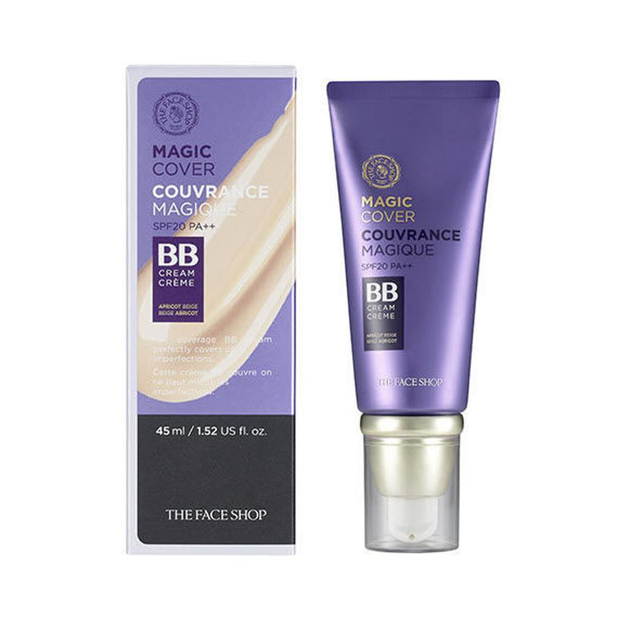 kem nền BB Cream The Face Shop Magic Cover SPF20 PA