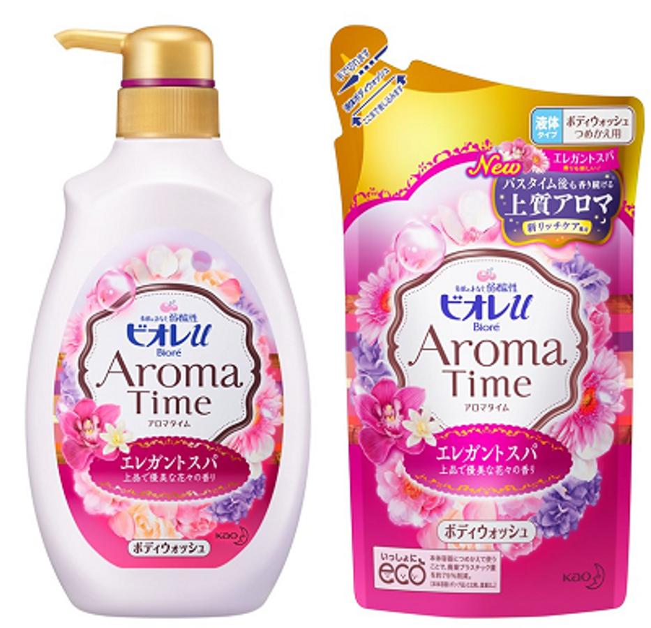 Sữa Tắm Biore Aroma Time Dẫn Xuất Vitamin Của Nhật