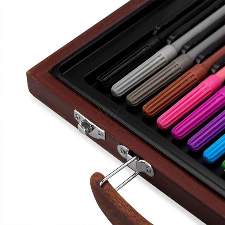 Hộp Bút Màu Đa Năng Colormate Hộp Gỗ 67W