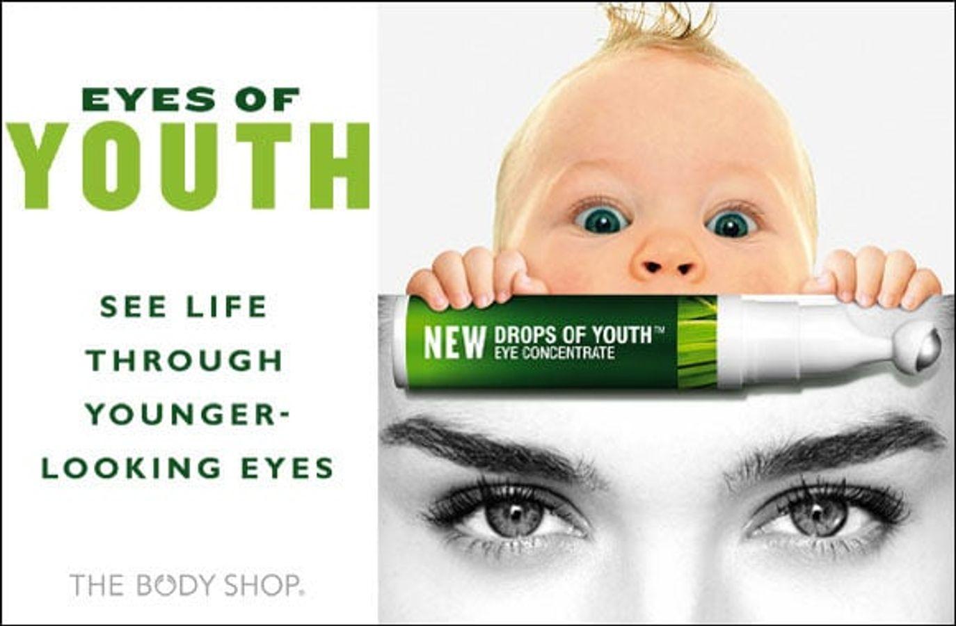 Kem Chống Nhăn Vùng Mắt The Body Shop Drops Of Youth