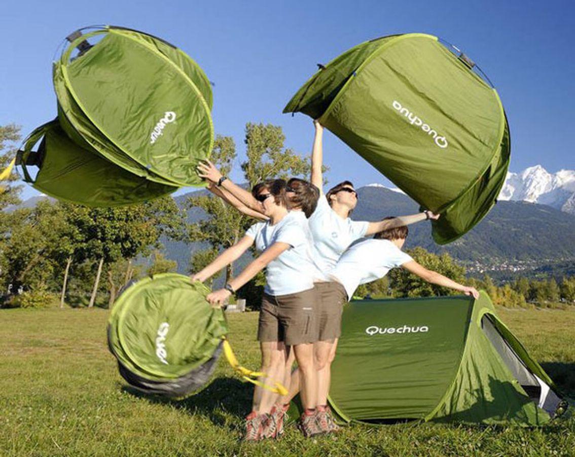 Lều Du Lịch 2 Người Tự Bung Quechua (Pop Up Tent)