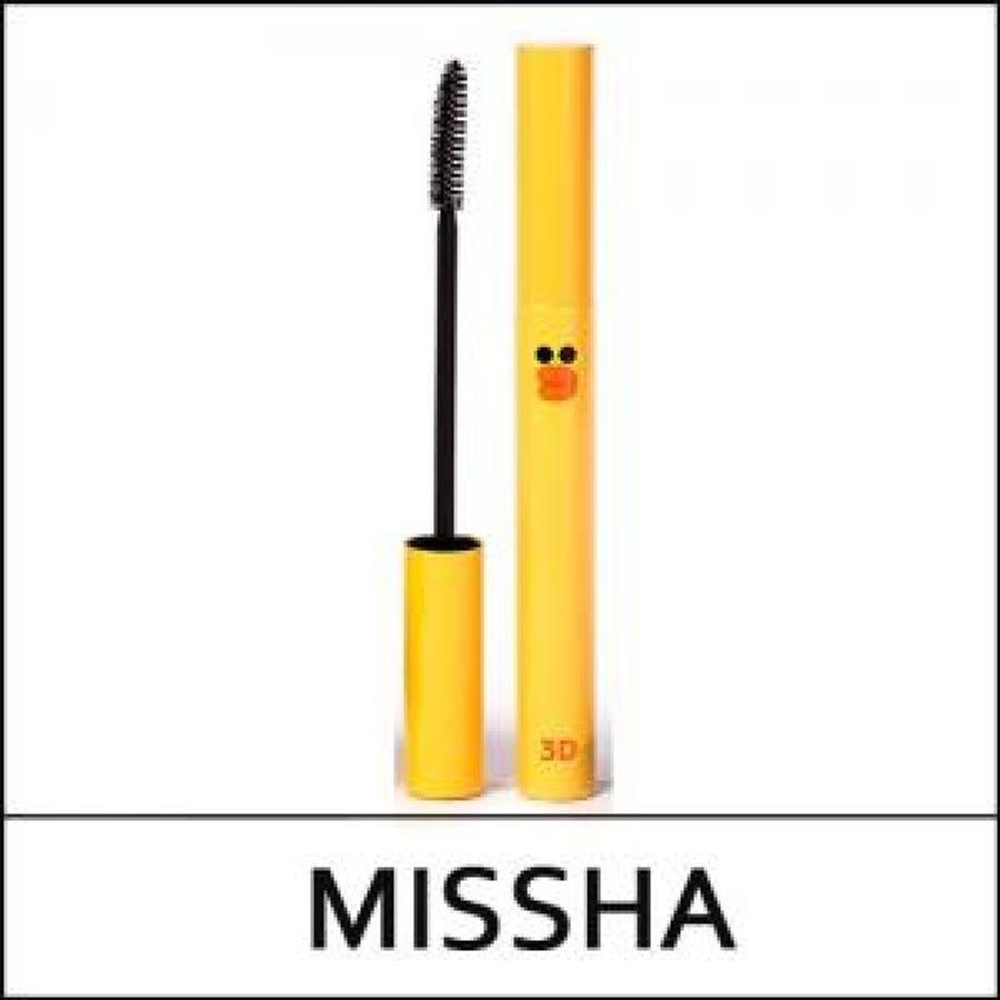 Mascara 3D Missha Làm Cong Và Dày Mi