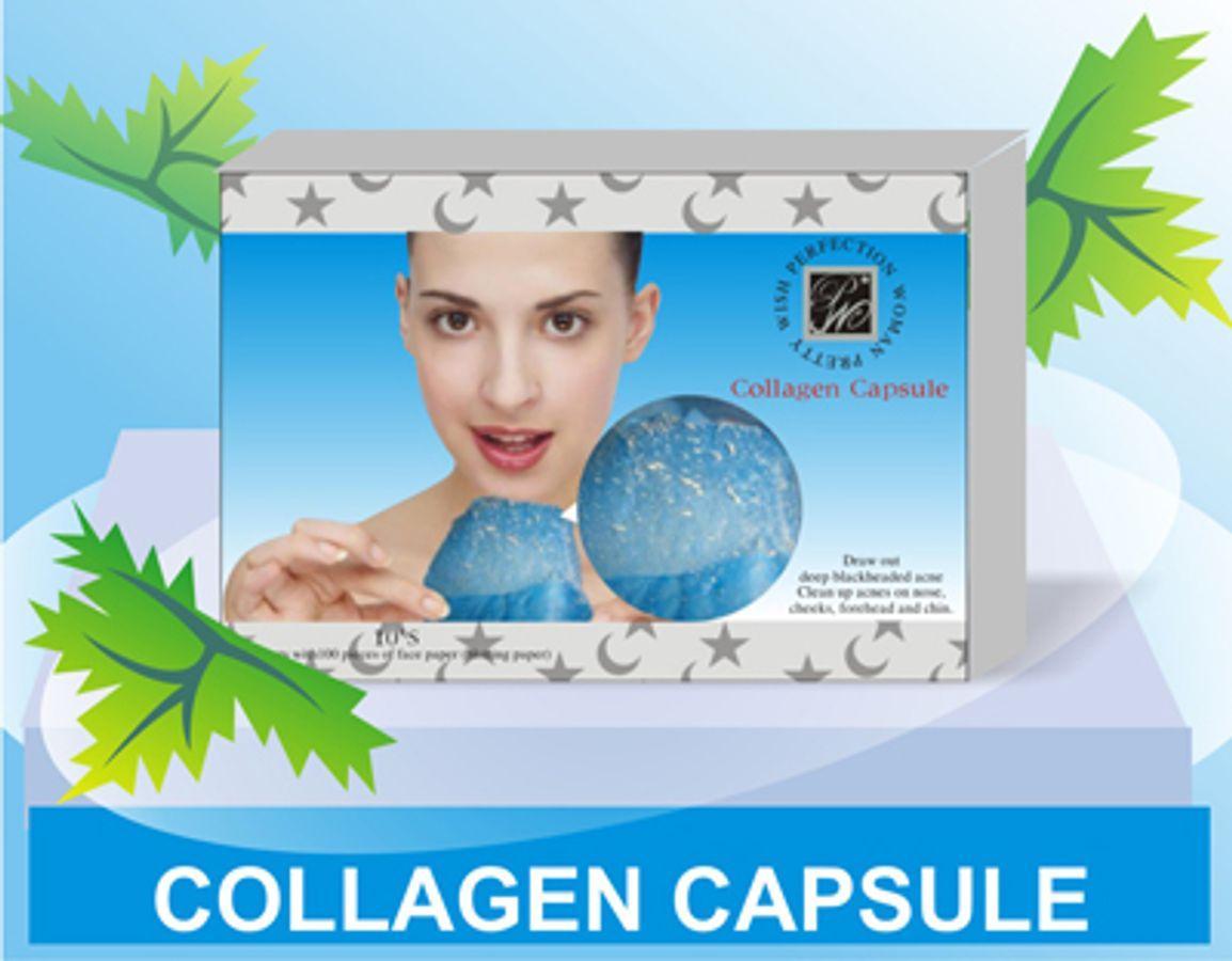Viên Lột Mụn Collagen An Toàn Và Hiệu Quả