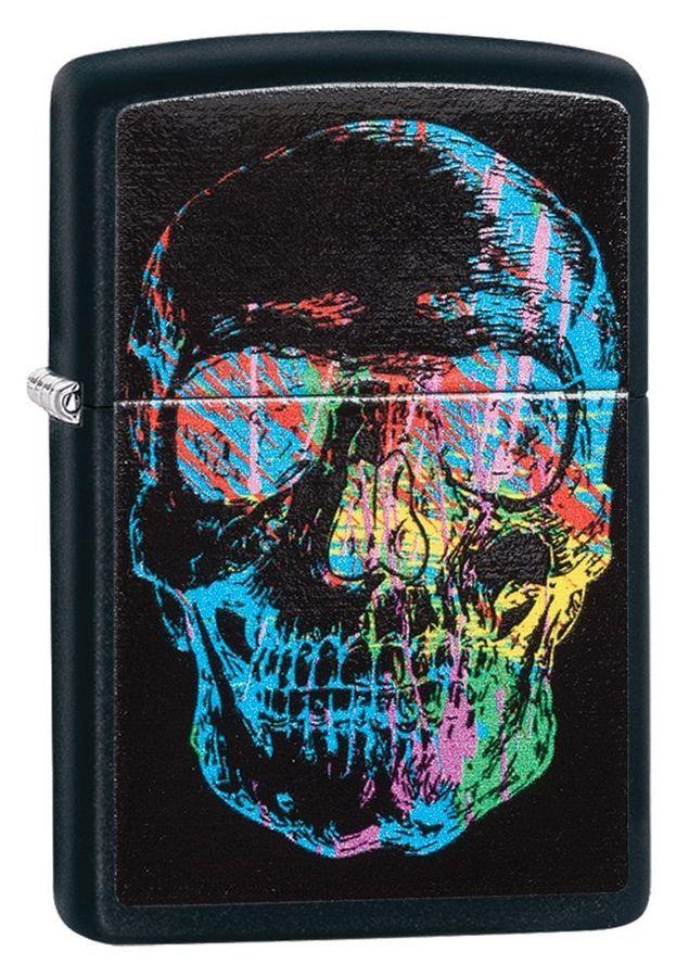 Bật Lửa Zippo Black Matte 28042 Phong Cách
