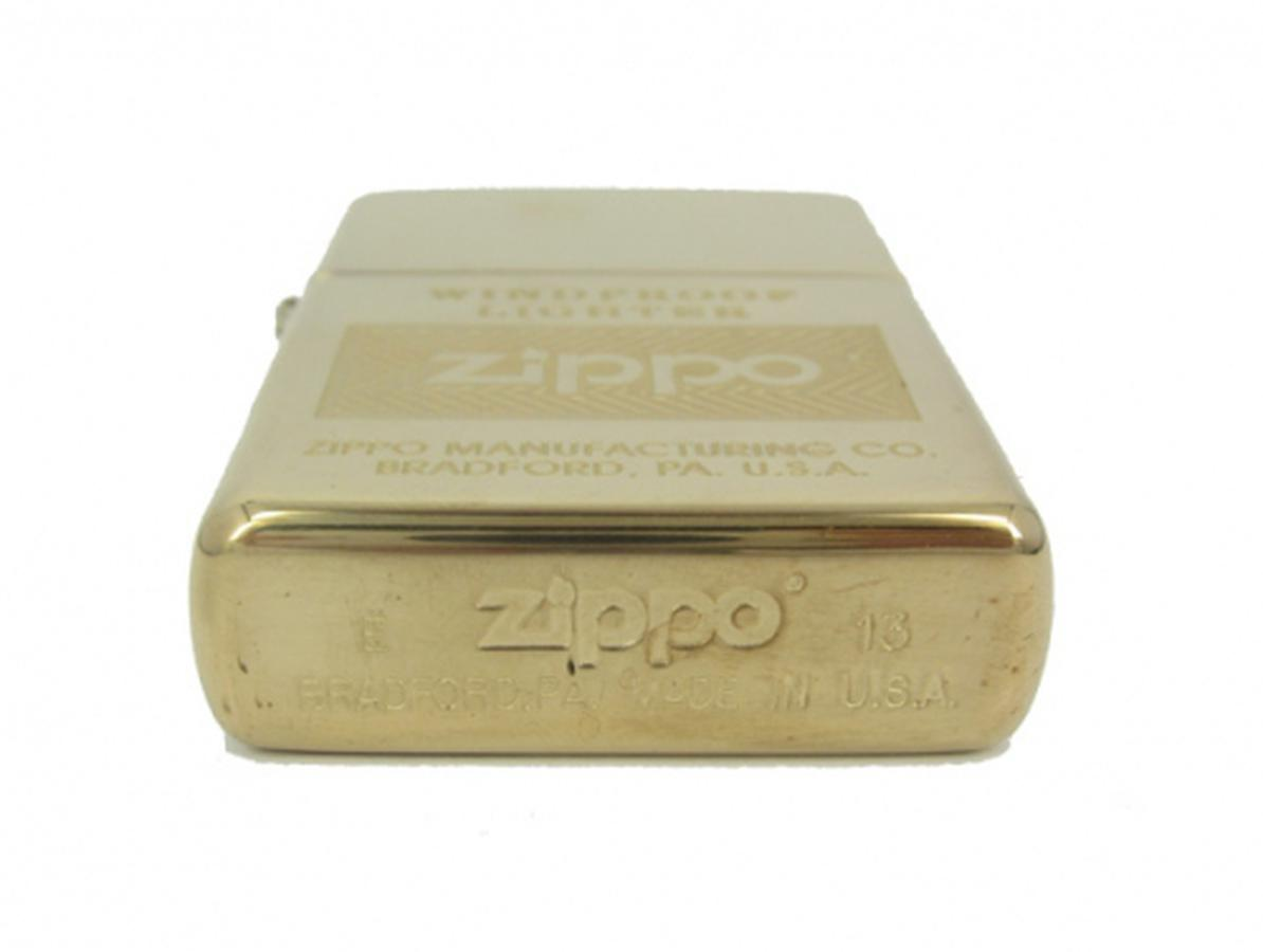 Bật Lửa Zippo Windproof High Polish Brass 28145
