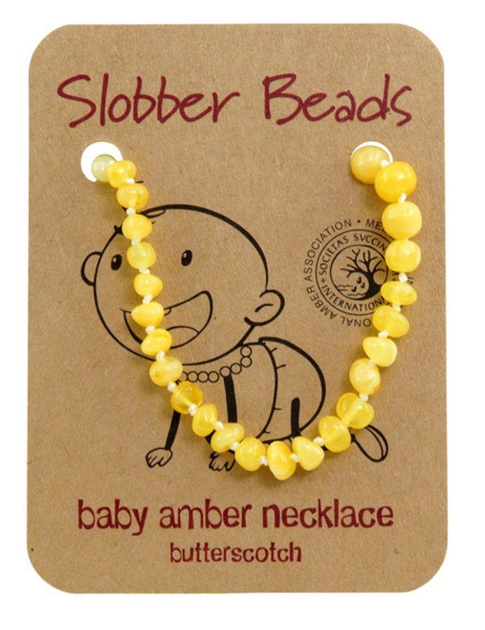 Vòng Hổ Phách Úc Slobber Beads Cho Bé