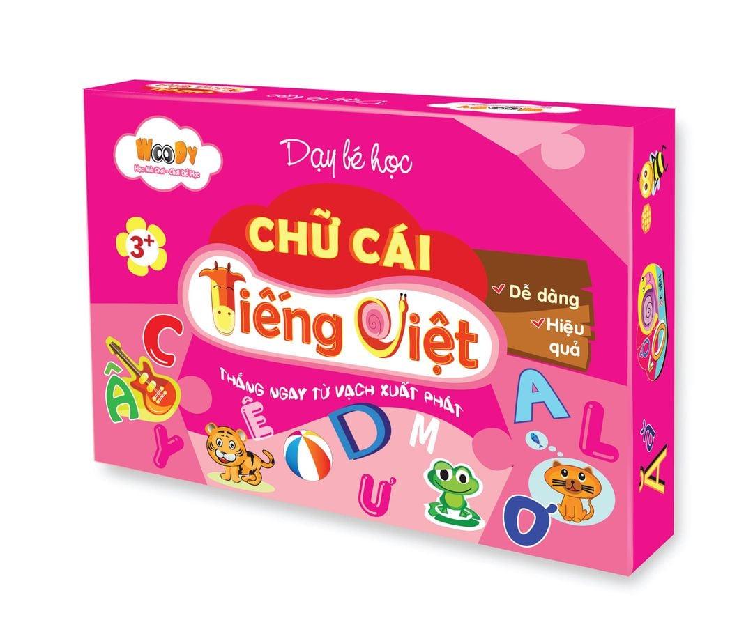 Bộ Đồ Chơi Học Chữ Cái Tiếng Việt Woody