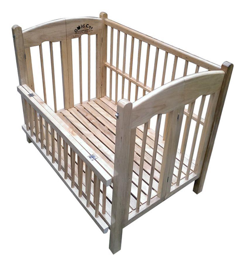 Giường Cũi Trẻ Em Gỗ Quế Goldcat 2 Tấng, Cỡ Trung