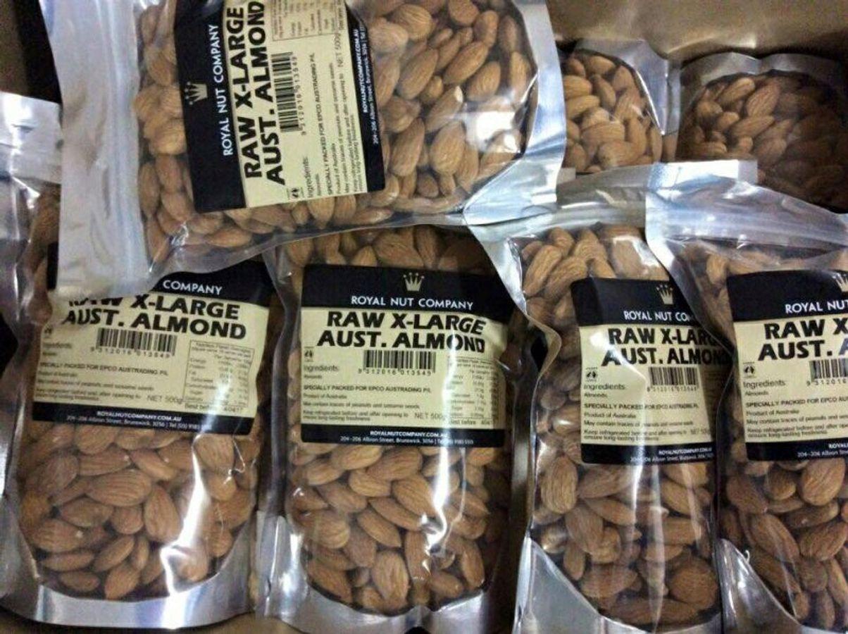 Hạt Hạnh Nhân Úc Royal Nut 500g