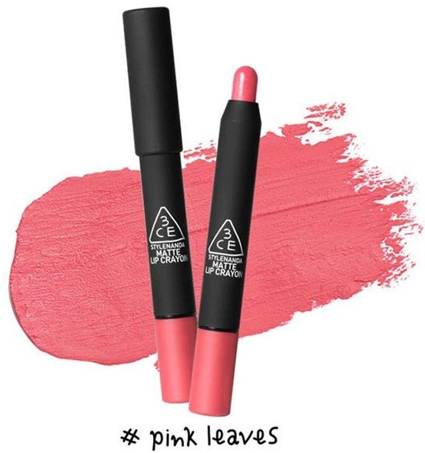 Son 3CE Matte Lip Crayon Dạng Bút Vặn Tiện Dụng
