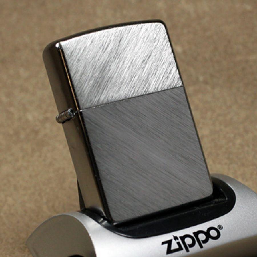 Bật Lửa Zippo 24648 Herringbone Sweep Xước Xương Cá