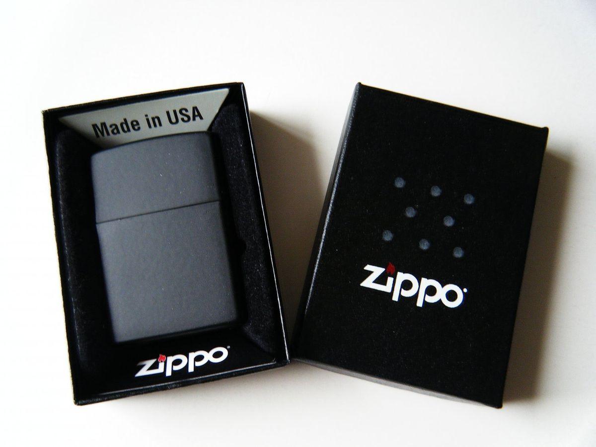 Bật Lửa Zippo Pipe Lighters Black Matte 218PL
