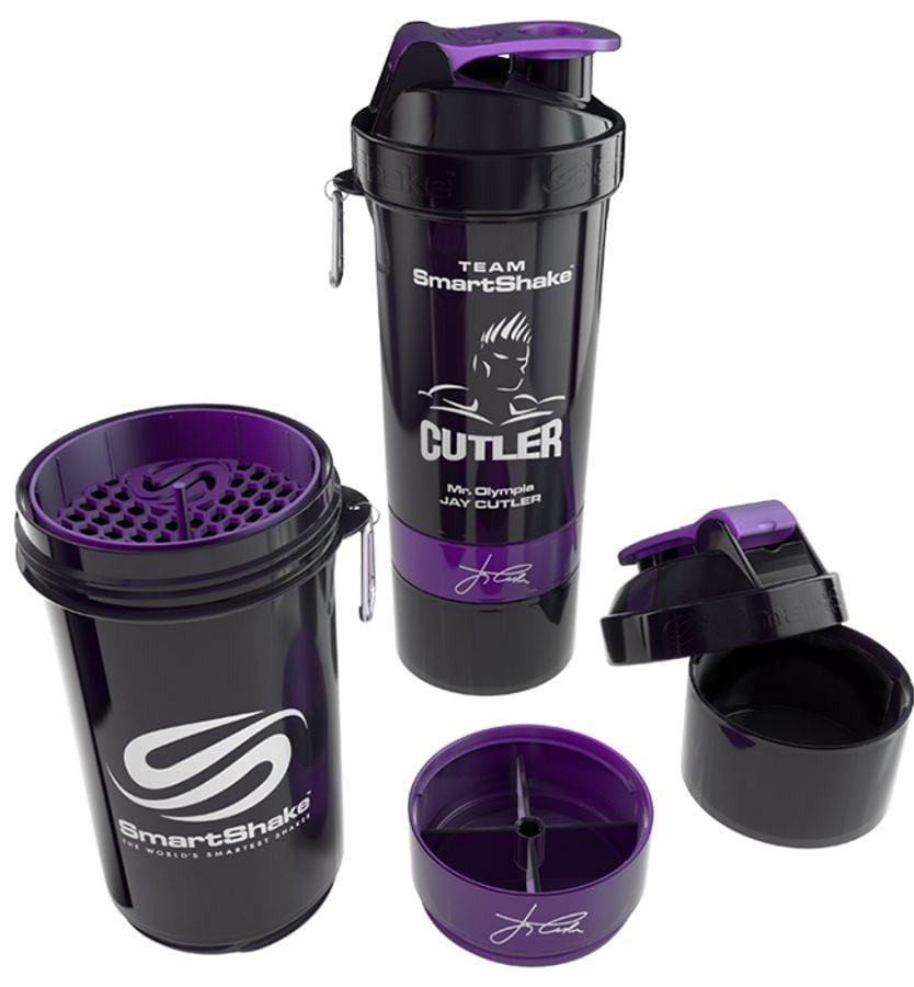 Bình Lắc Shaker 3 Ngăn Smartshaker Jay Cutler 800ml
