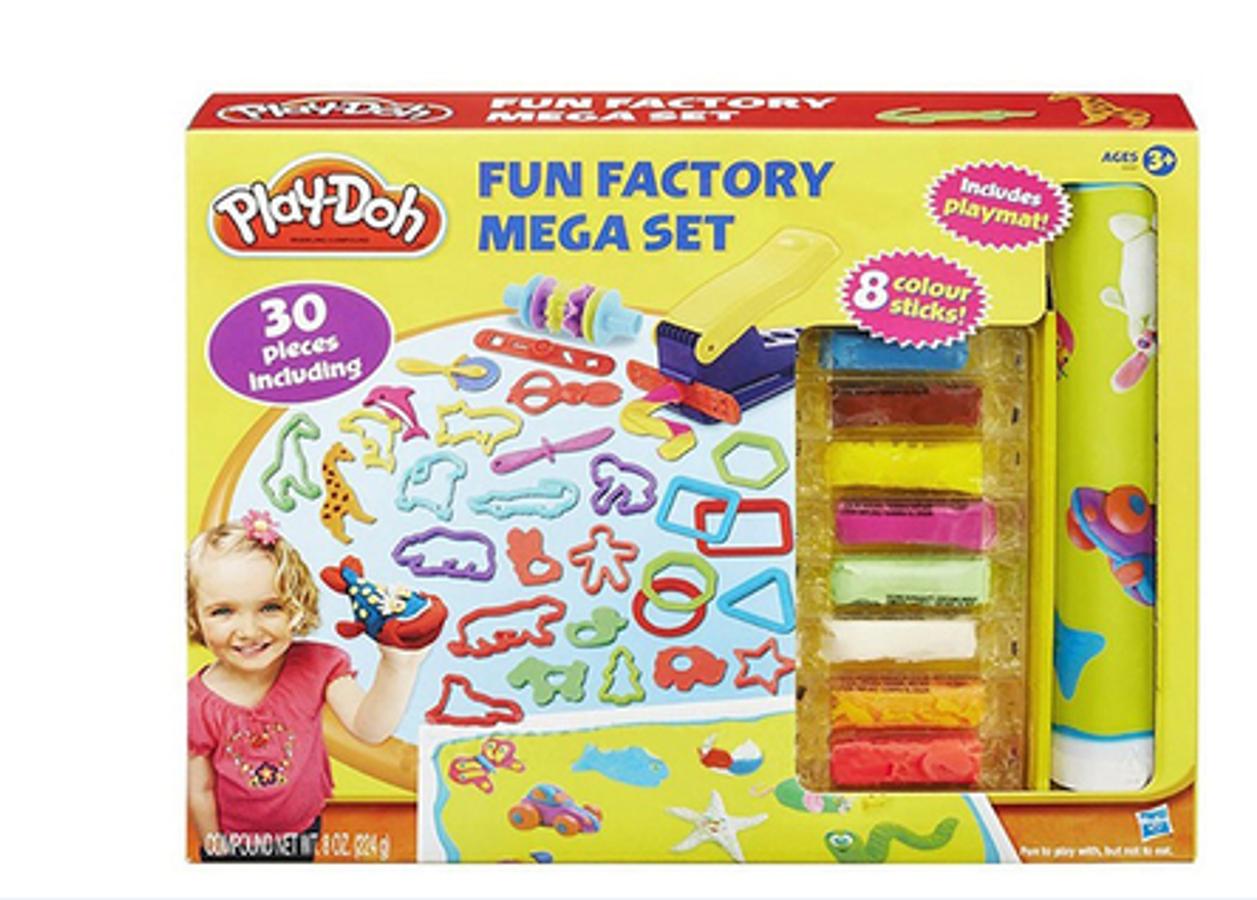 Bộ Đất Nặn Mỹ Play-Doh B3087- Khuôn Tạo Hình Ngộ Nghĩnh
